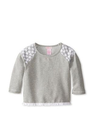 40% OFF Design History Girl's 2-6X Cropped Top (Grey)