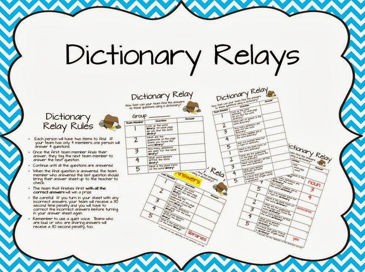 The Book Bug: Dictionary Skills