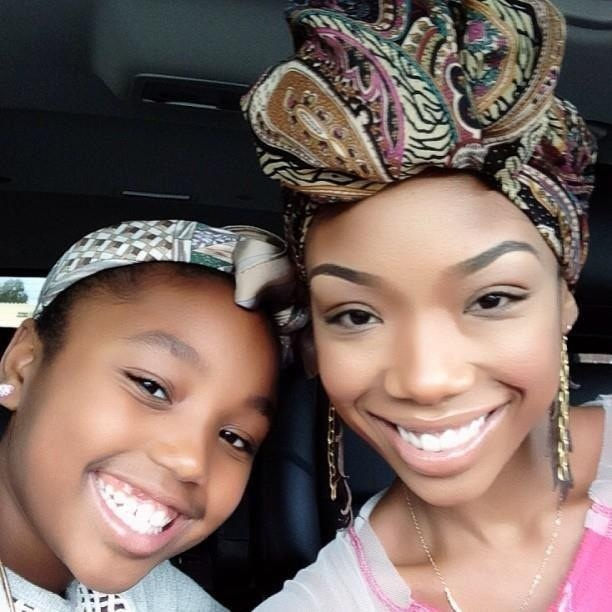 Brandy Norwood Daughter Beautiful Black Women