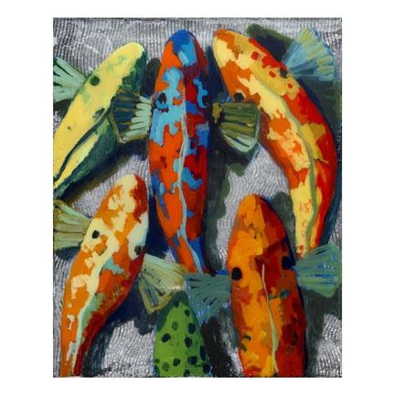 Hyder calico group 5 20x16 koi pinterest fish for Calico koi fish