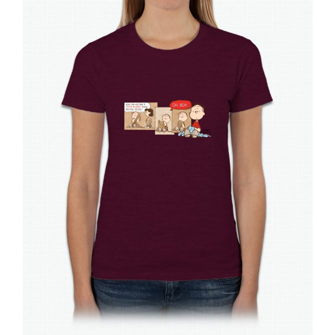 Linus Linus Peanuts Ladies T-Shirt