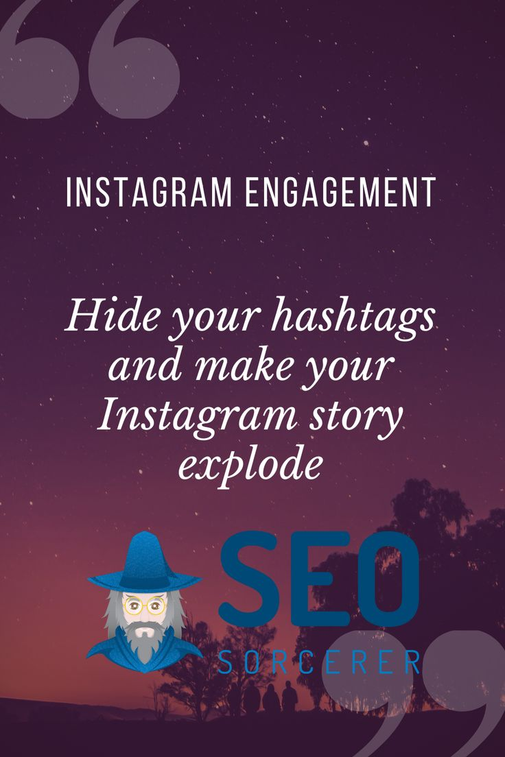 How to add multiple hashtags on instagram story going