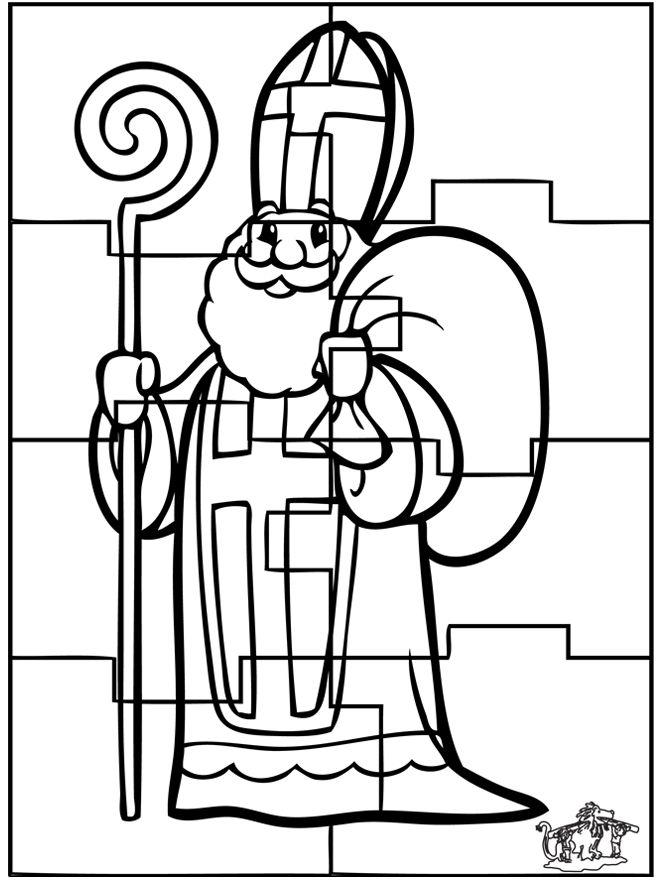 (2) Puzzel Sinterklaas