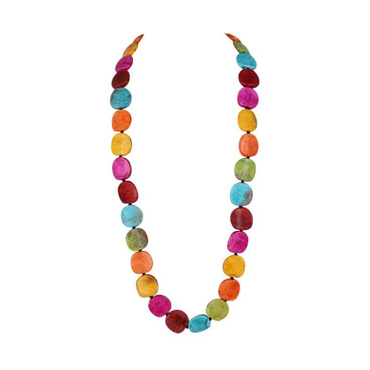 Glass Multi-Coloured Mix Necklace