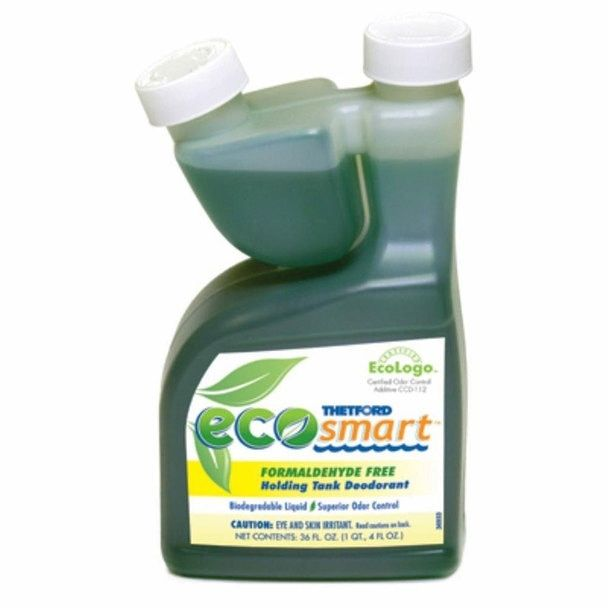 Thetford 32949 Eco Smart Holding Tank Deodorant 36oz Bottle Deodorant Biodegradable Products Bottle