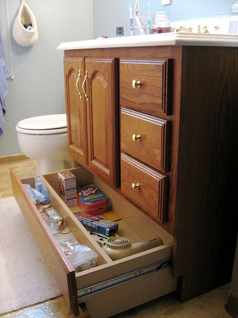 Pinterest o the worlds catalog of ideas for Bathroom vanity with bottom drawer