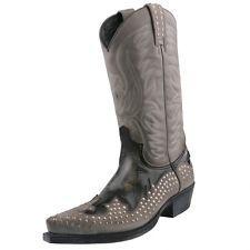 Neu SENDRA BOOTS Cowboystiefel Stiefelette Herrenstiefel Stiefel Leder Schuhe