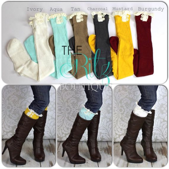 Hey, I found this really awesome Etsy listing at https://www.etsy.com/listing/170524960/sale-adult-boot-socks-ruffle-lace-button