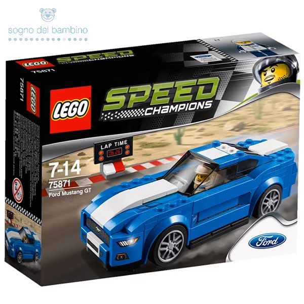 LEGO SPEED CHAMIONS 75871 Ford Mustang #legochamions #legoesclusivi