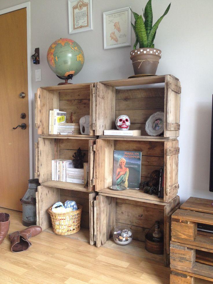 17 meilleures images propos de d co meubles sur for Caisse de pomme deco