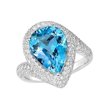 Spark Creations Jewelry at Liljenquist & Beckstead Stores. Discover more at > www.liljenquistbeckstead.com #Jewelry #LiljenquistBeckstead #rings #blue #diamonds