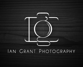 40  photography logo designs | inspirationcubeinspirationcube