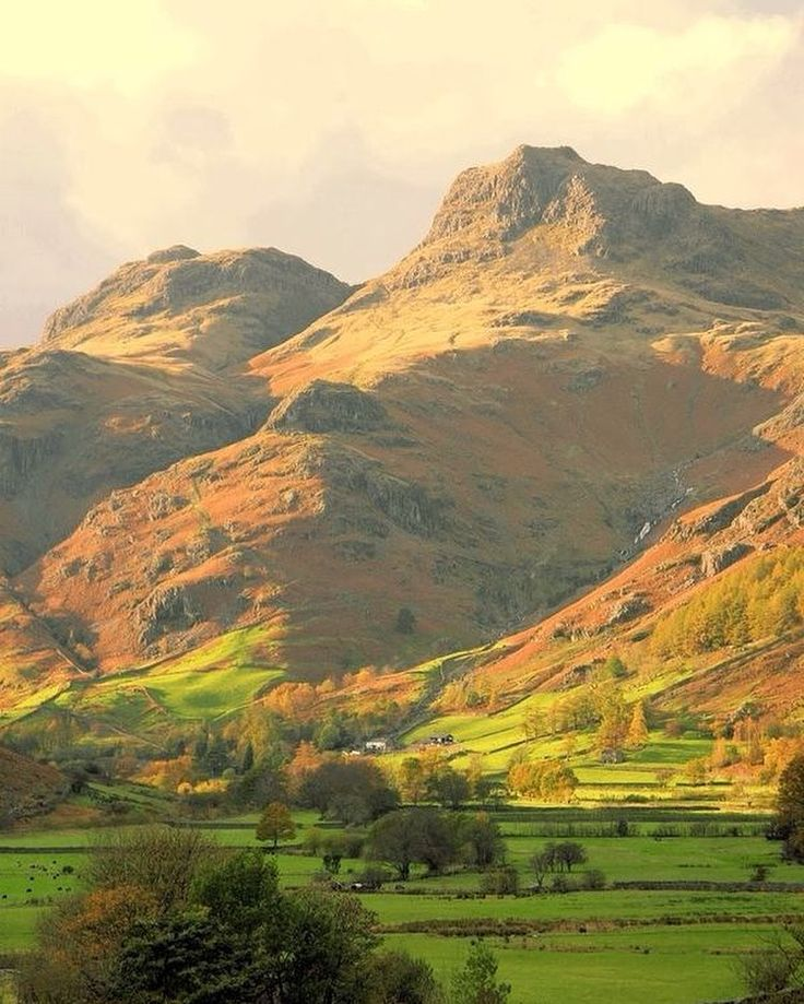 Langdale Ambleside Pikes in the Lake District, England, UK.