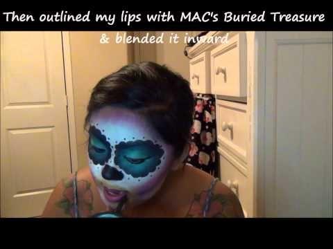 dia de los muertos makeup