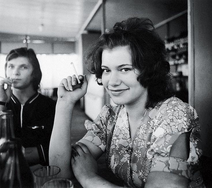 """secretcinema1: """" Barmaid, 1974, Antanas Sutkus """""""