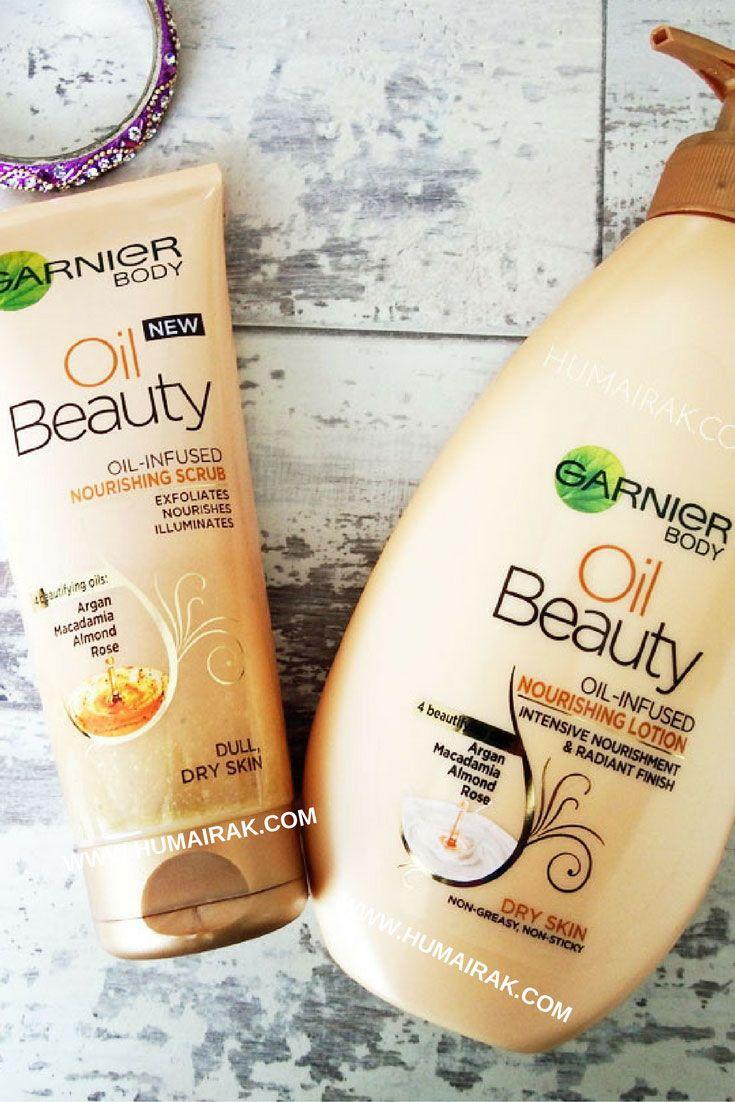 Garnier Dry Skin Nourishing Scrub & Body Oil Beauty Dry Skin Nourishing Lotion Review. | Humairak.com