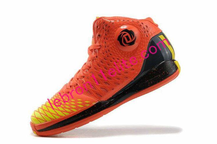 Adidas AdiZero Crazy Light 8810 Leather Derrick Rose Red Mens Basketball Shoes