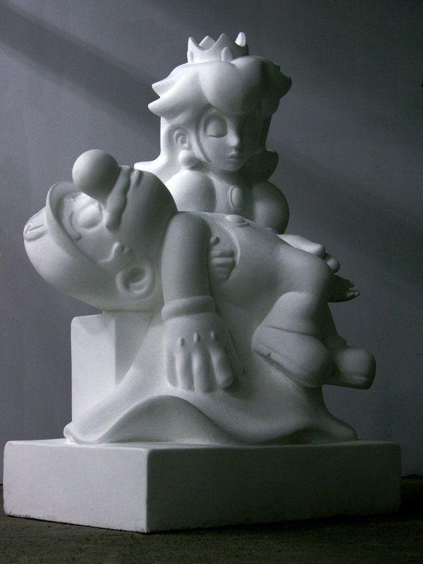 "Pieta ""Game Over"" by ~Kordianl"