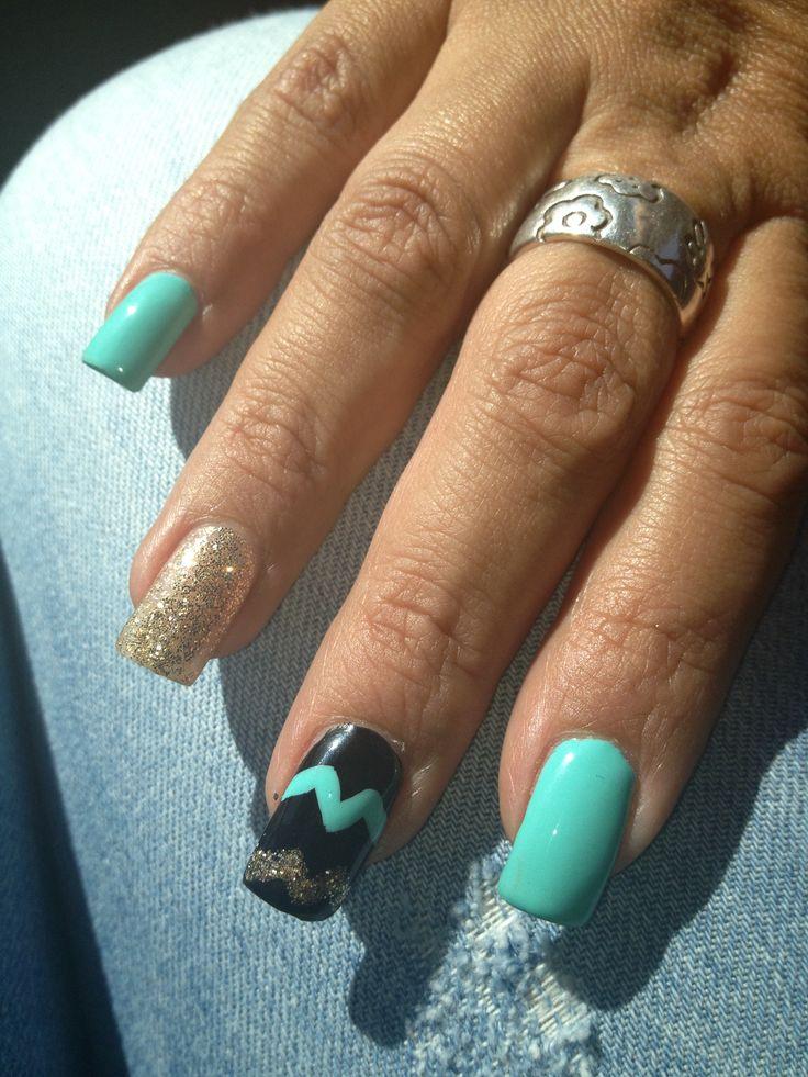 Mejores 80 imágenes de Mis uñas en Pinterest