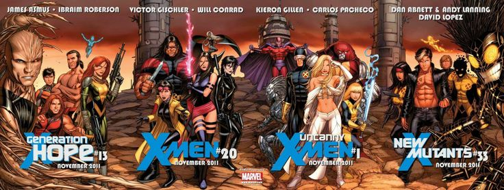 """Regenesis: Team Break Out  After Schism, Wolverine and Cyclops announces that mutantkind is """"splitting up"""", and set about recruiting core X-Men to their sides. Below is the results…"""