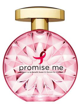 """Promise Me"" is a perfume sold by the Susan G. Komen foundation last year. It sold for 59 a bottle, with a just a measly 1.31 of that retail price estimated to actually go to funding breast cancer research. If that weren't enough to give consumers pause, how about the fact that the perfume contained known carcinogens?"