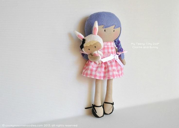 Мой Тини-Крошечный Кукла ® Чарли и Банни