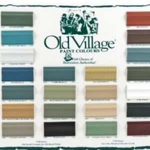 121 Best Old Village Paint Images On Pinterest Age Old