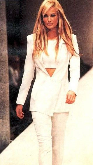 1996 Fendi Furs Fashion Magazine Print Ad: 191 Best Images About Karen Mulder On Pinterest
