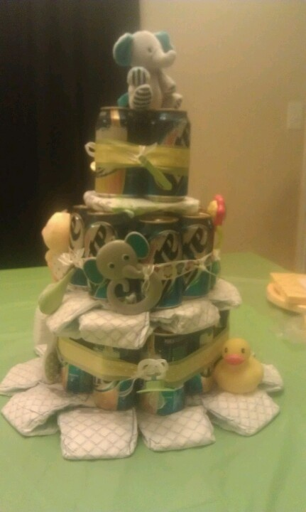 Diaper Beer Cake Baby Pinterest Friends Cas And