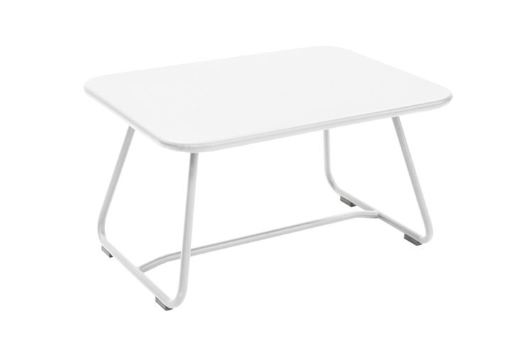 The Sixties Low Table is a playful, attractive and useful piece that is available in a variety of colors. This is a great table to use if you want to lounge in your backyard.