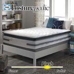Sealy Posturepedic® Prichard Plush Euro Pillowtop Queen Mattress Set