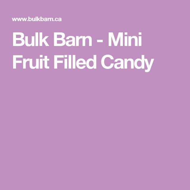 Bulk Barn - Mini Fruit Filled Candy