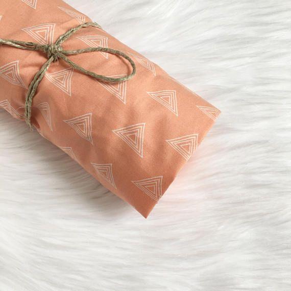 Coral Baby Bedding / Coral Crib Sheet / Crib Sheets Girl