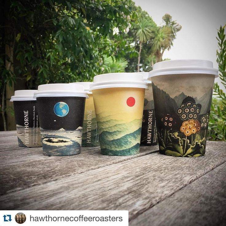 #Repost @hawthornecoffeeroasters ・・・ Our new eco friendly take away coffee cups have just landed. Made from plants not oils. We love'm. #artcup #ecoware #celebrateourplanet