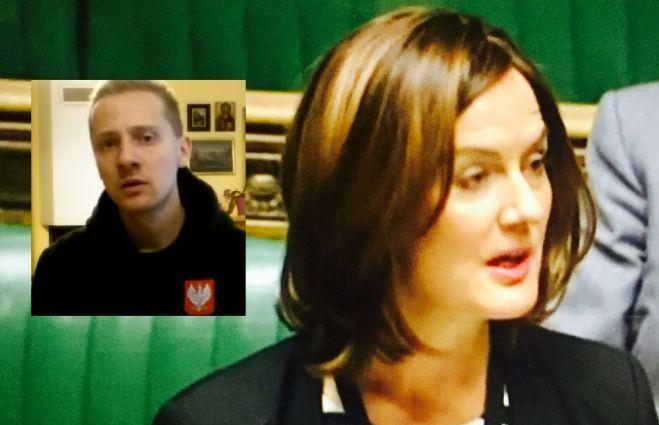 Nasze brytyjskie źródła informują, że to posłanka Partii Konserwatywnej Lucy Allan z okręgu Telford, doprowadził do zatrzymania na lotnisku Jacka Międ...