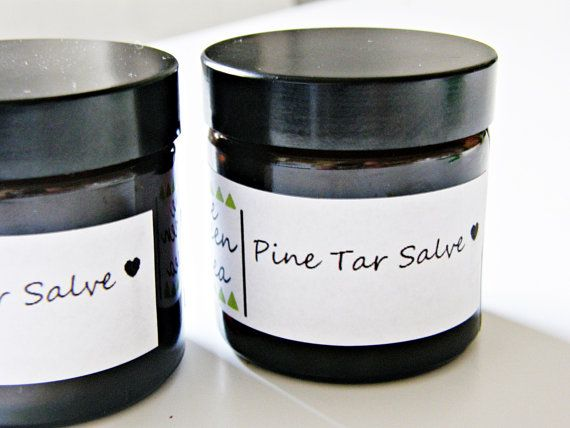 Pine Tar Salve Pine Tar Balm Healing Salve by OneGreenIdea on Etsy, €5.00
