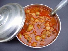 Chaldean Cary (Curry) with Chicken and Potatoes
