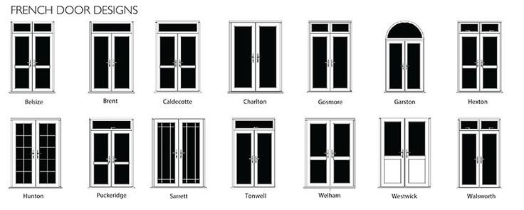 French Doors For Sale UK | The English Door Company Entrance, Front, External and Exterior uPVC Doors for Sale UK