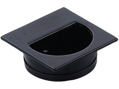 Benito Flush Pull - Black