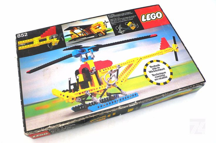 LEGO TECHNIC Set 852 Helikopter OVP - cyan74.com vintage and pop culture