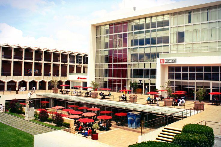 Una vista de nuestro Campus Central UPAEP