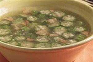 Sopa de quingombó