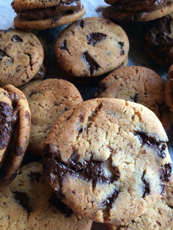 Chocolate chip cookies whoopies