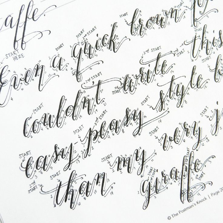 Best copperplate calligraphy ideas on pinterest