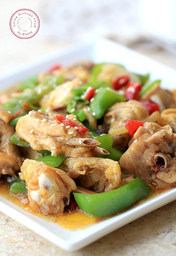 hunan chicken--a spicy and savory Chinese chicken recipe