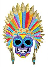Arte Mexicano | Pintora Lourdes Villagómez | Skulls