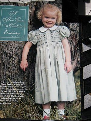 Dottie's Day Dress featured in Creative Needle Magazine. Designed and made by Trudy Horne.