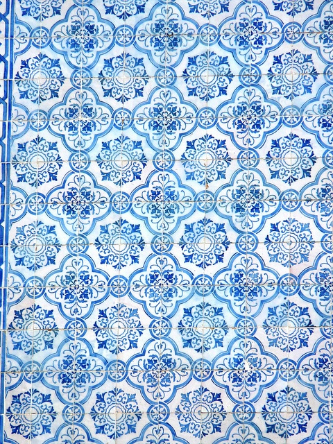 tile pattern - wat druk, maar de kleurcombo is wel lekker fris en uitstraling ouderwets gezellig