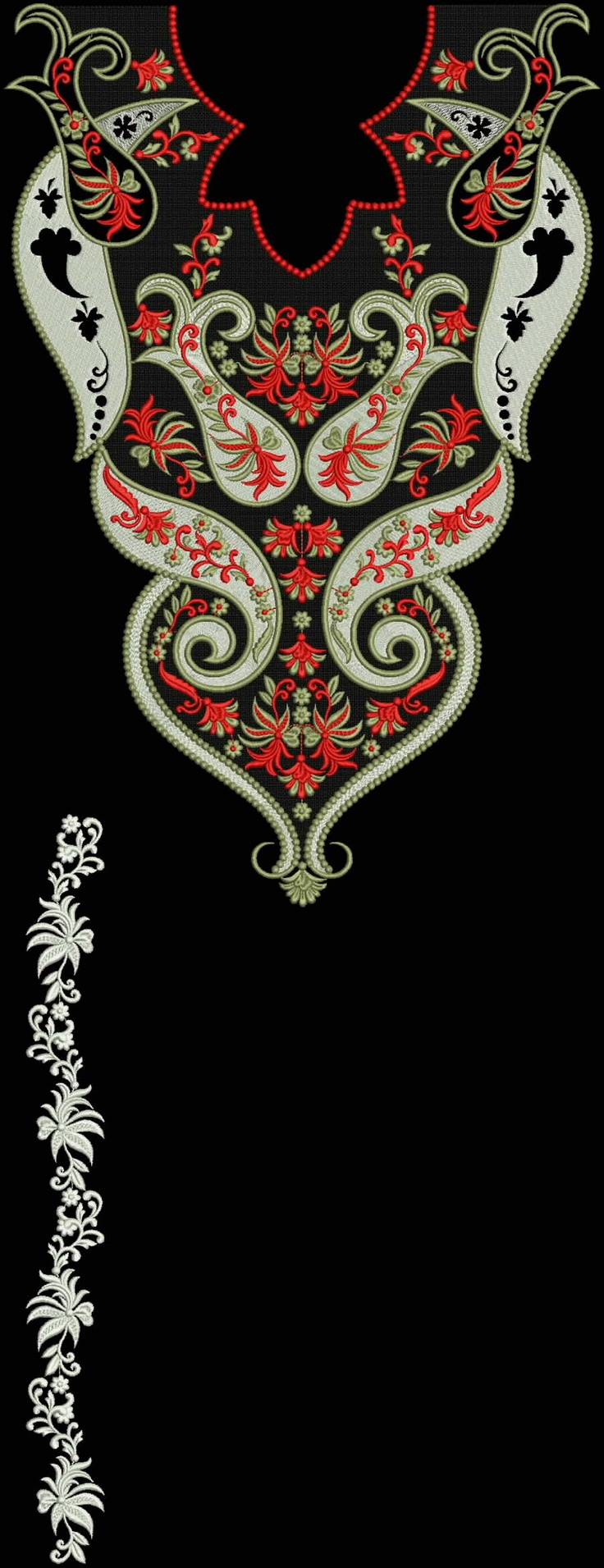 Latest Embroidery Designs For Sale, If U Want Embroidery Designs Plz Contact (Khalid Mahmood, +92-300-9406667) www.embroiderydesignss.blogspot.com Design# Loker13
