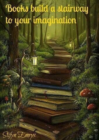 ive always had a big imagination and a VERY VERY big bookworm